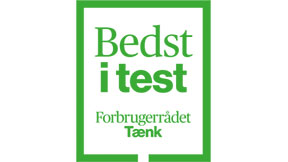 Bedst i Test og designpriser